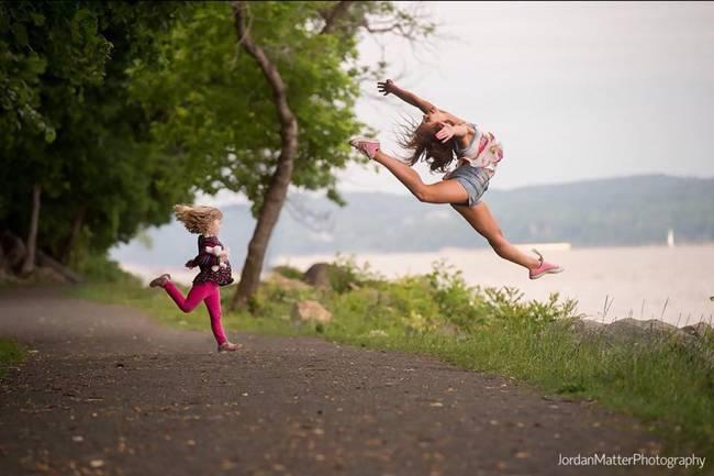 Dancers Among Us a unique photographic project by Jordan Metter