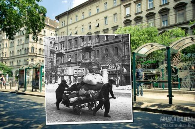 Budapest Past and Perest Photographs