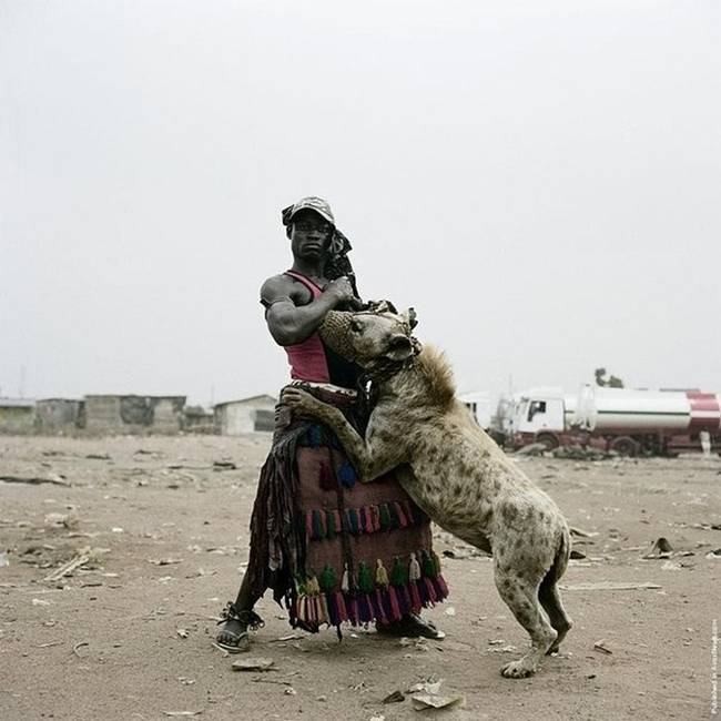 Photo project by photographer Pieter Hugo