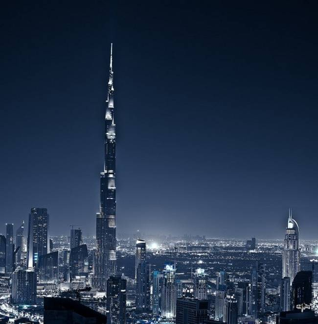 Dubai Cityscape from Gost Ridr - a photographer based in Dubai, United Arab Emirates