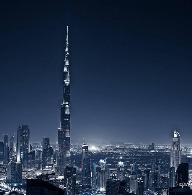 Dubai Cityscape from Gost Ridr - a photographer based in Dubai, United Arab Emirates