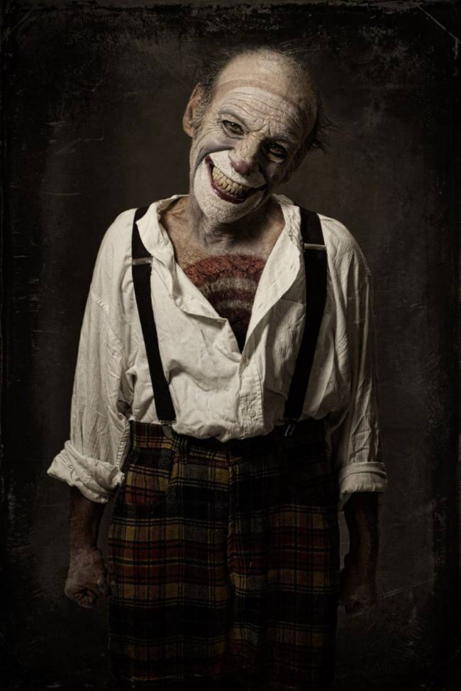 Scary Clowns Portraits By Eolo Perfido