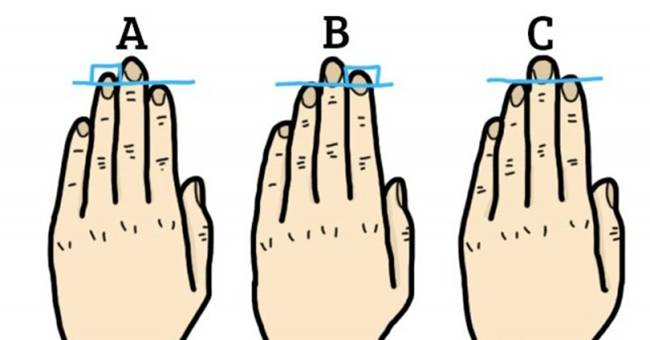 The fingers of the left hand say lot of about a person