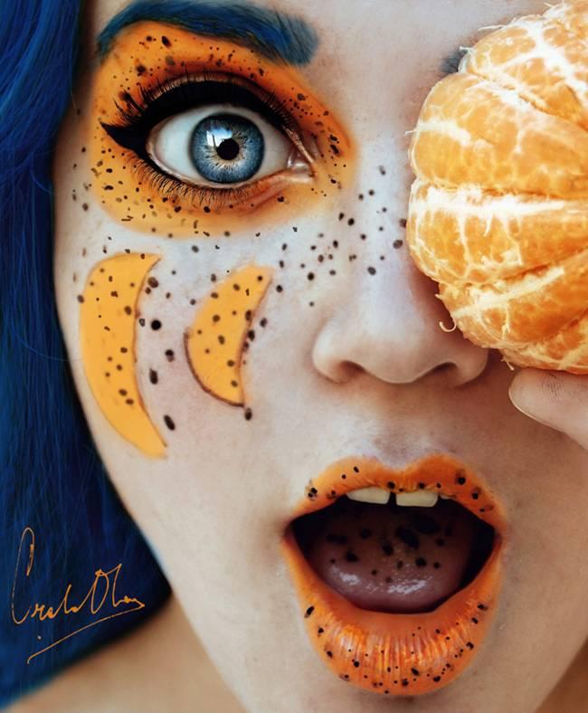 Cristina Otero Self Portraits Tutti Frutti Work