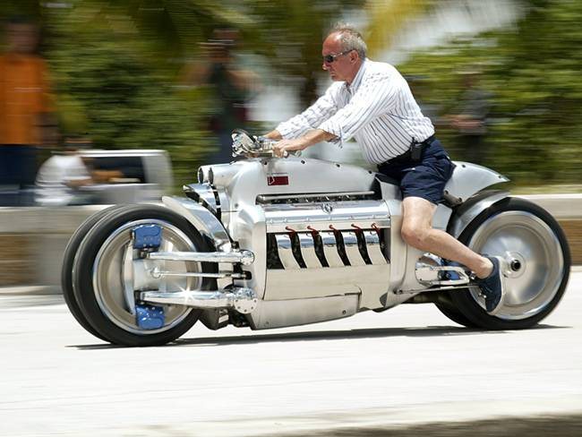 Dodge Tomahawk | World's Fastest Motorbike