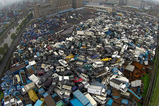 Junk Yards in China