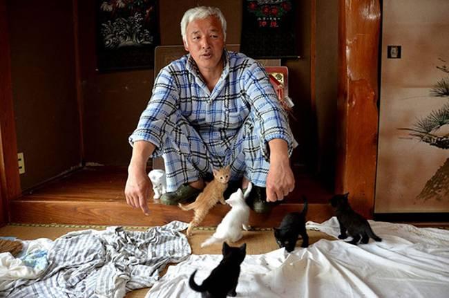 Naoto Matsumura, The man alone in the town of Tomioka Japan