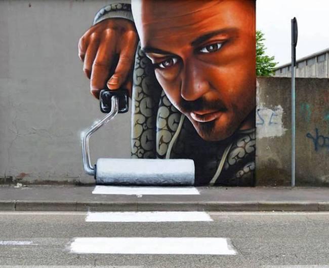 Street Art By Caiffa Cosimo
