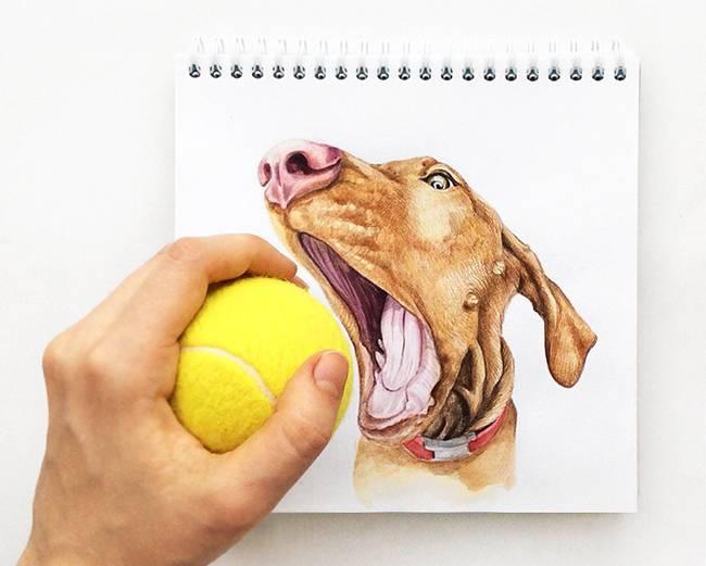 Valerie Susik creates dynamic illustration