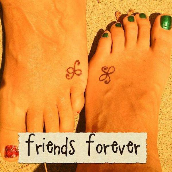 BFF Matching Tattoos