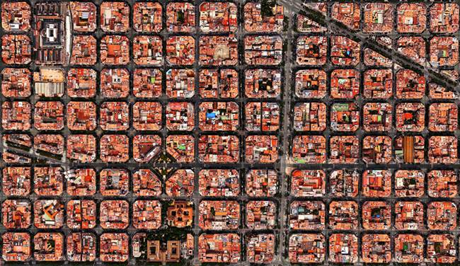 Google Earth to photograph by Benjamin Grant