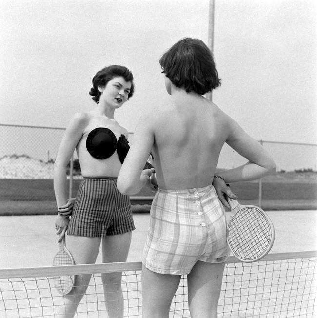 The adhesive bra — 1949
