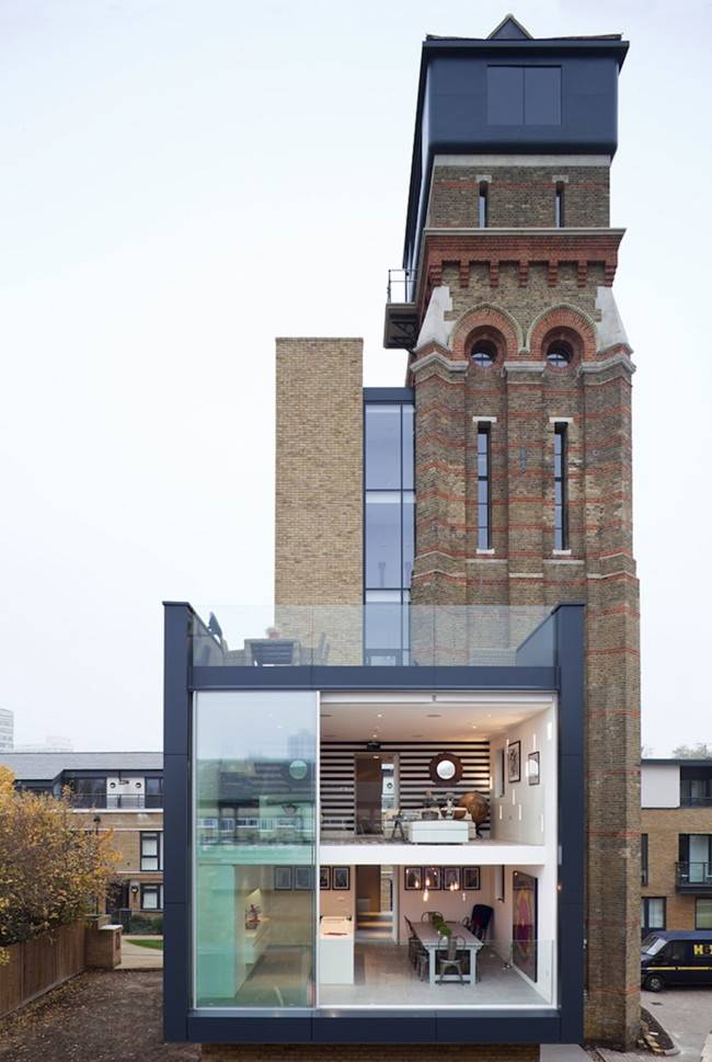 Water Tower Turn Into A Modern House Gudsol