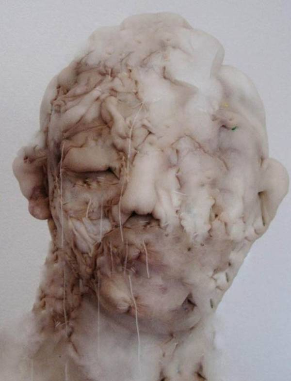 The Creepy Nylon Sculptures by Dutch artist Rosa Verloop