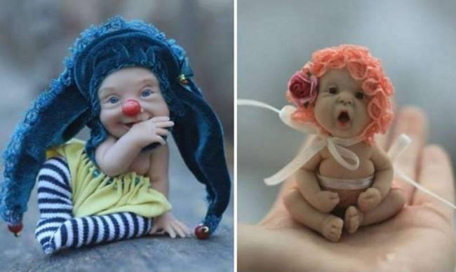The Cute Dolls By Elena Kirilenko Gudsol
