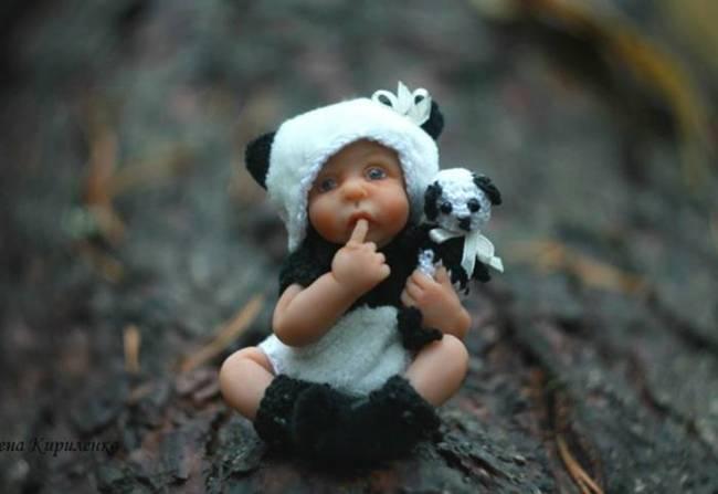 Cute dolls by Elena Kirilenko