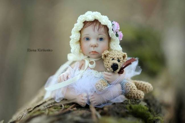 Cute dolls by Elena Kirilenko