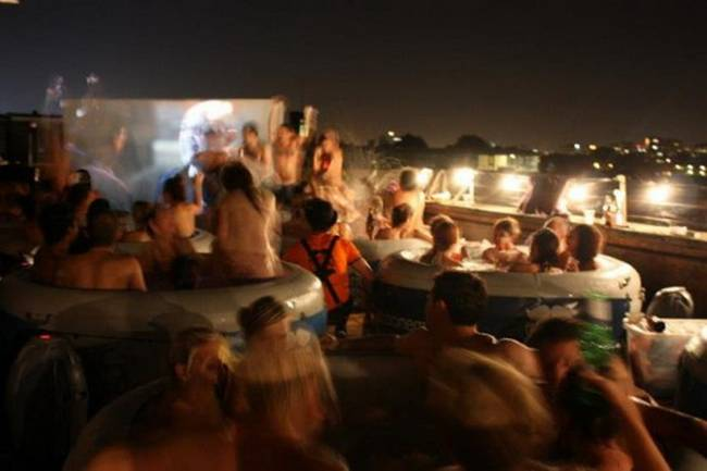 Hot Tub Cinema - London