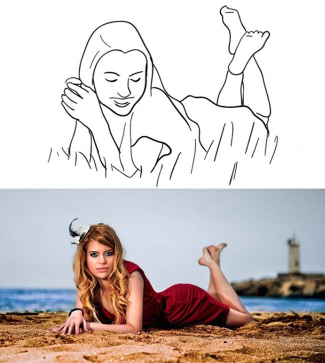 How to pose for photos