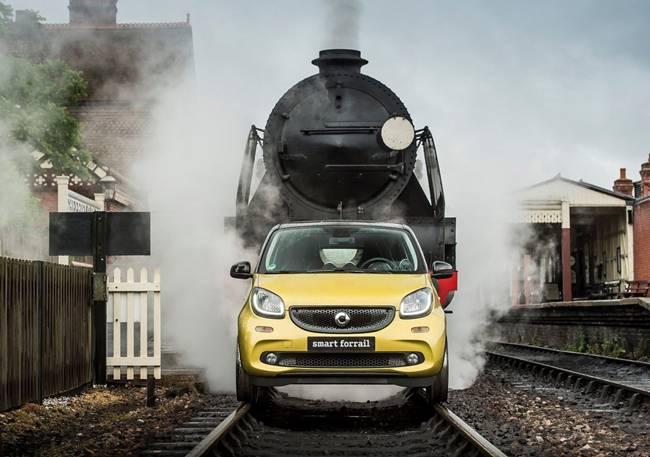 Smart Forrail, Run on Railway Track
