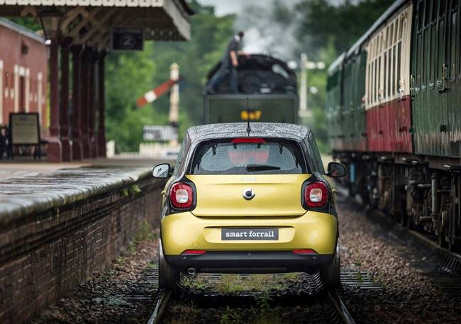 Smart Forrail, Run on Railway Track