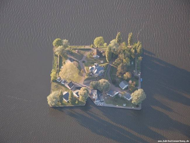 Square Shape Wilhelmstein Island Germany