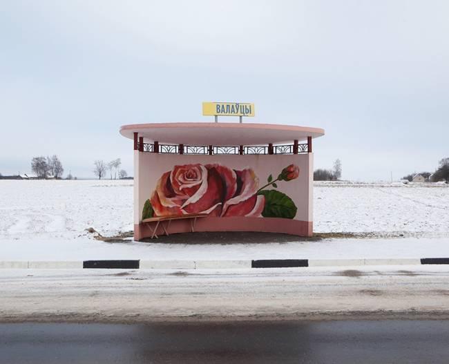 Painted Bus Stops of Belarus
