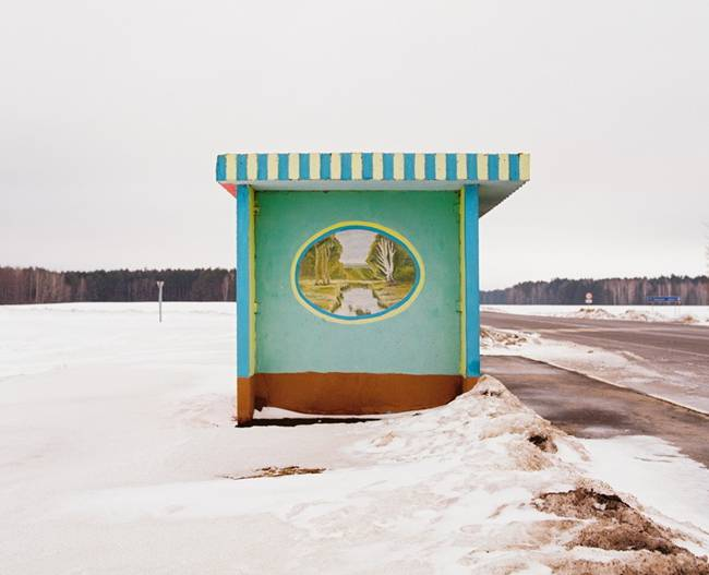 Painted Bus Stops of Belarus