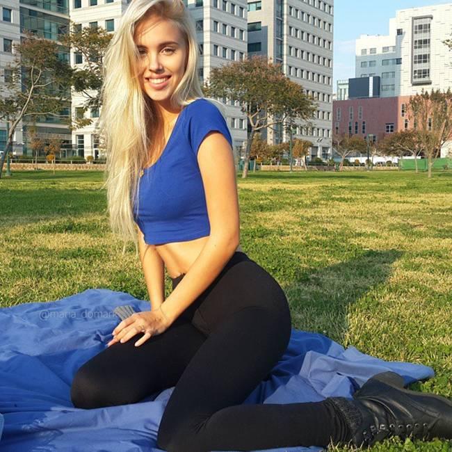 Maria Domark Israeli  hot girl