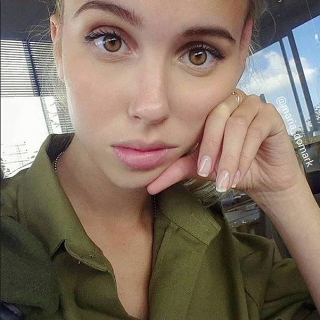 Maria Domark Israeli Model
