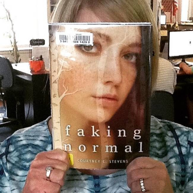 The face of Readers combined with covers of Books