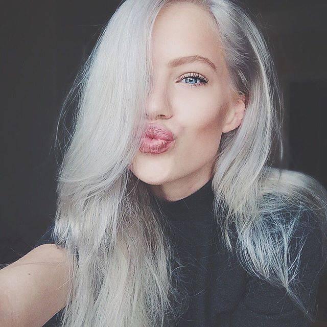 Swedish model Agnes Hedengård
