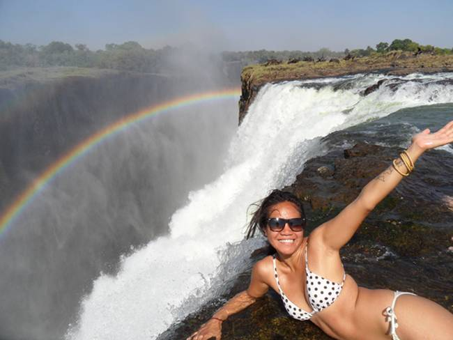 The devil s pool at victoria falls gudsol for Devils swimming pool victoria falls