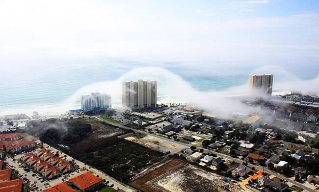 A unique natural phenomenon, The tsunami of Heaven