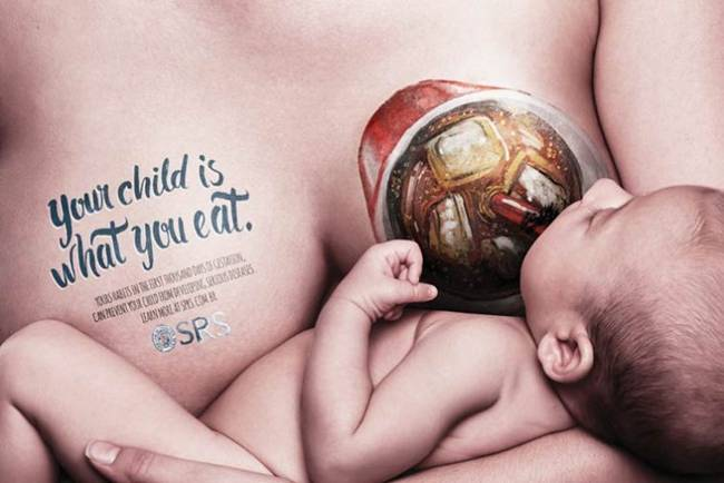 An awareness campaign to consumption of junk food during pregnancy