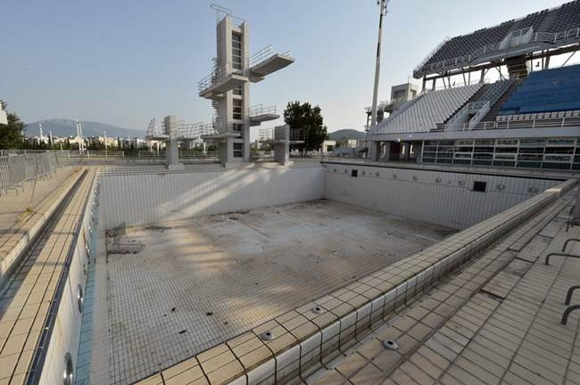 Abandoned venues of Athens Olympic 2004
