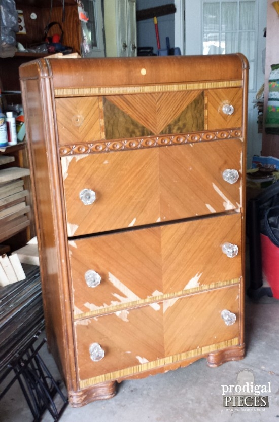 Wonderful conversion of old chest of drawers
