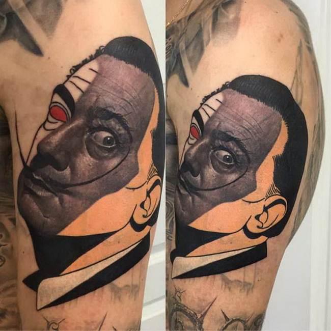 Unusual Tattoo Dzikson Wildstyle