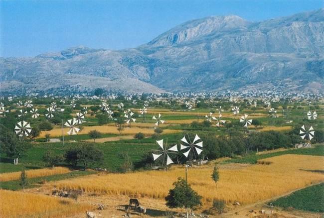 Valley of Thousand Windmills, Lassithi