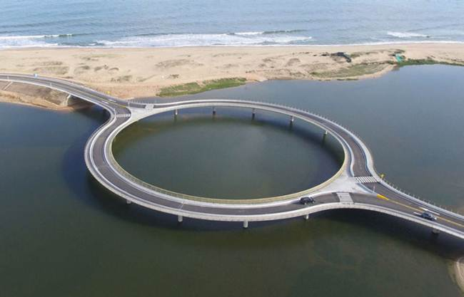 Round Bridge in Uruguay