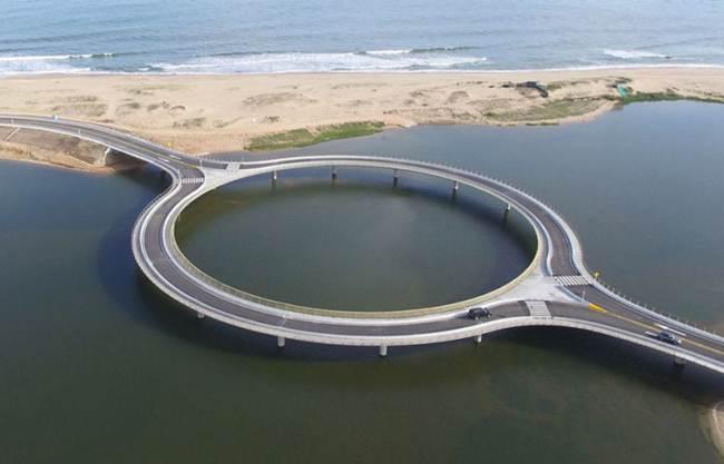 Round Bridge in Uruguay