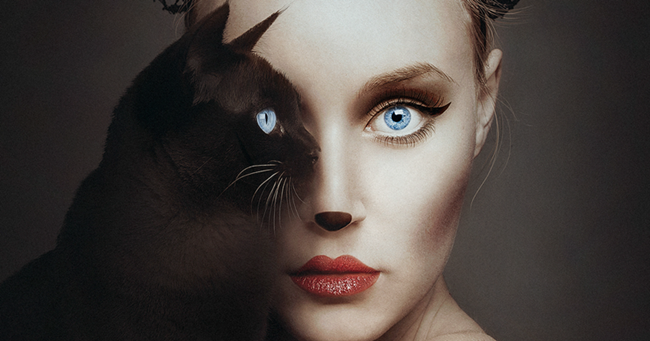 People and animals in the photographs of Flora Borsi