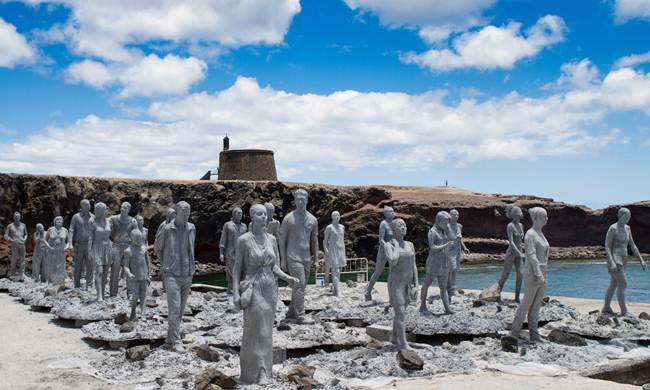 The first underwater museum in Europe