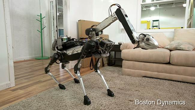 Boston Dynamics: new robot and the new bullying