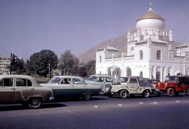 Afghanistan in the 60s before the conflict