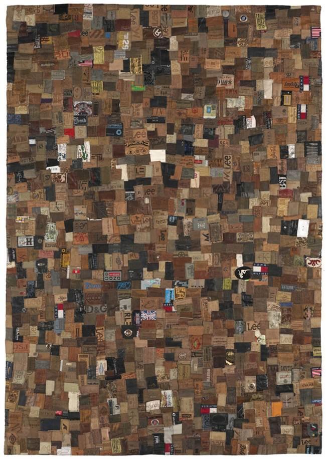 Jeans Labels Carpet