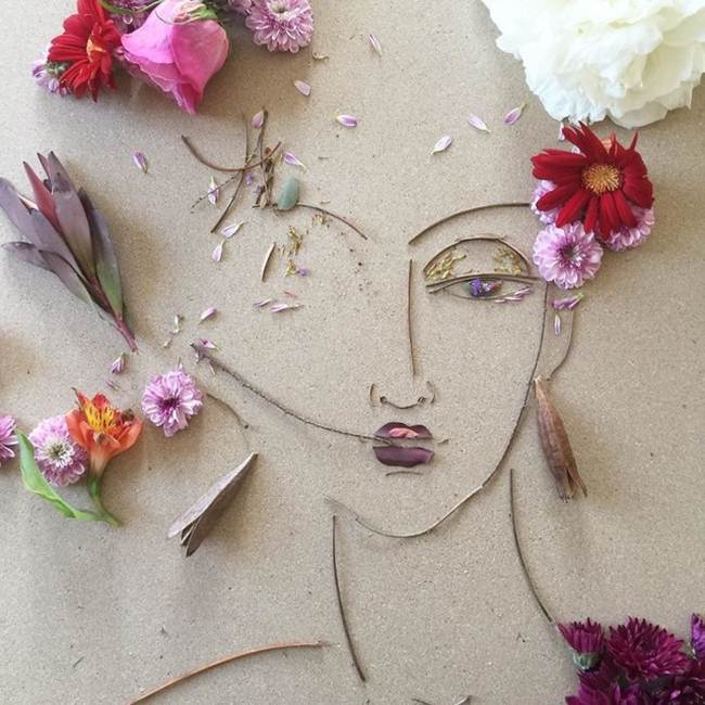Art Herbarium — The nature in flowering portraits of mothers and daughters