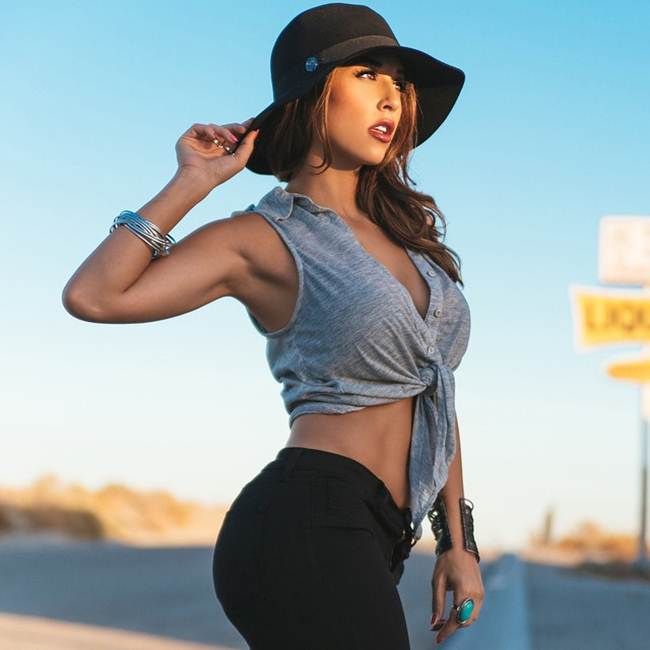 Tianna Gregory, US famous and professional model