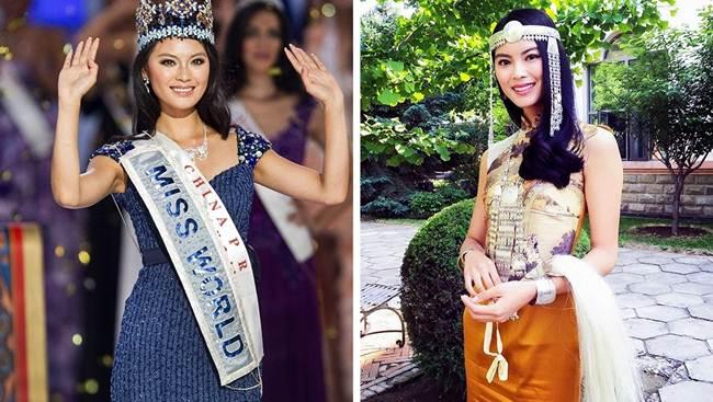 Yu Wenxia (China) Miss World 2012