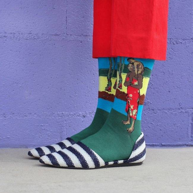 Kate Brien Artistic Socks